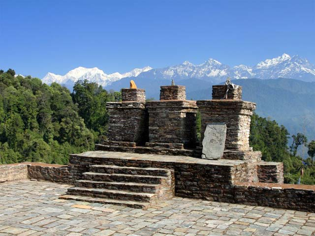 places to visit in sikkim - Rabdentse Ruins