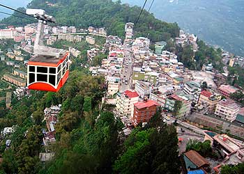places to visit in sikkim - Ropeway