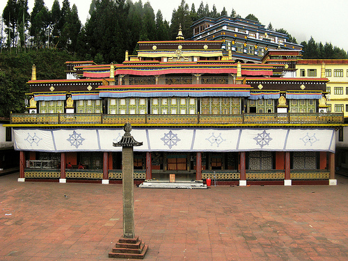 places to visit in sikkim - Rumtek Dharma Chakra Centre