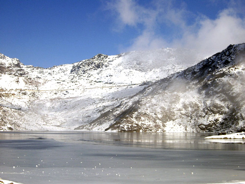 places to visit in sikkim - Tsomgo Lake
